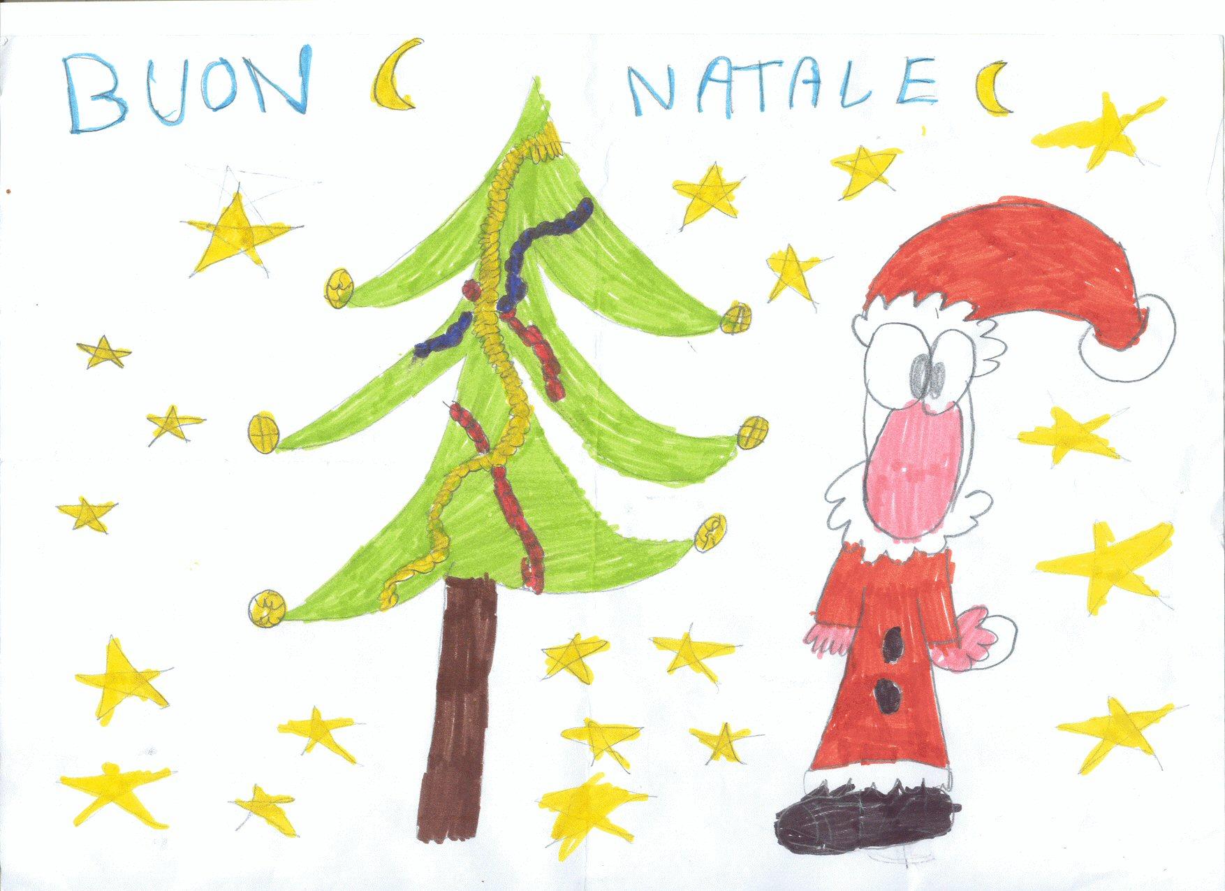 Disegno Buon Natale