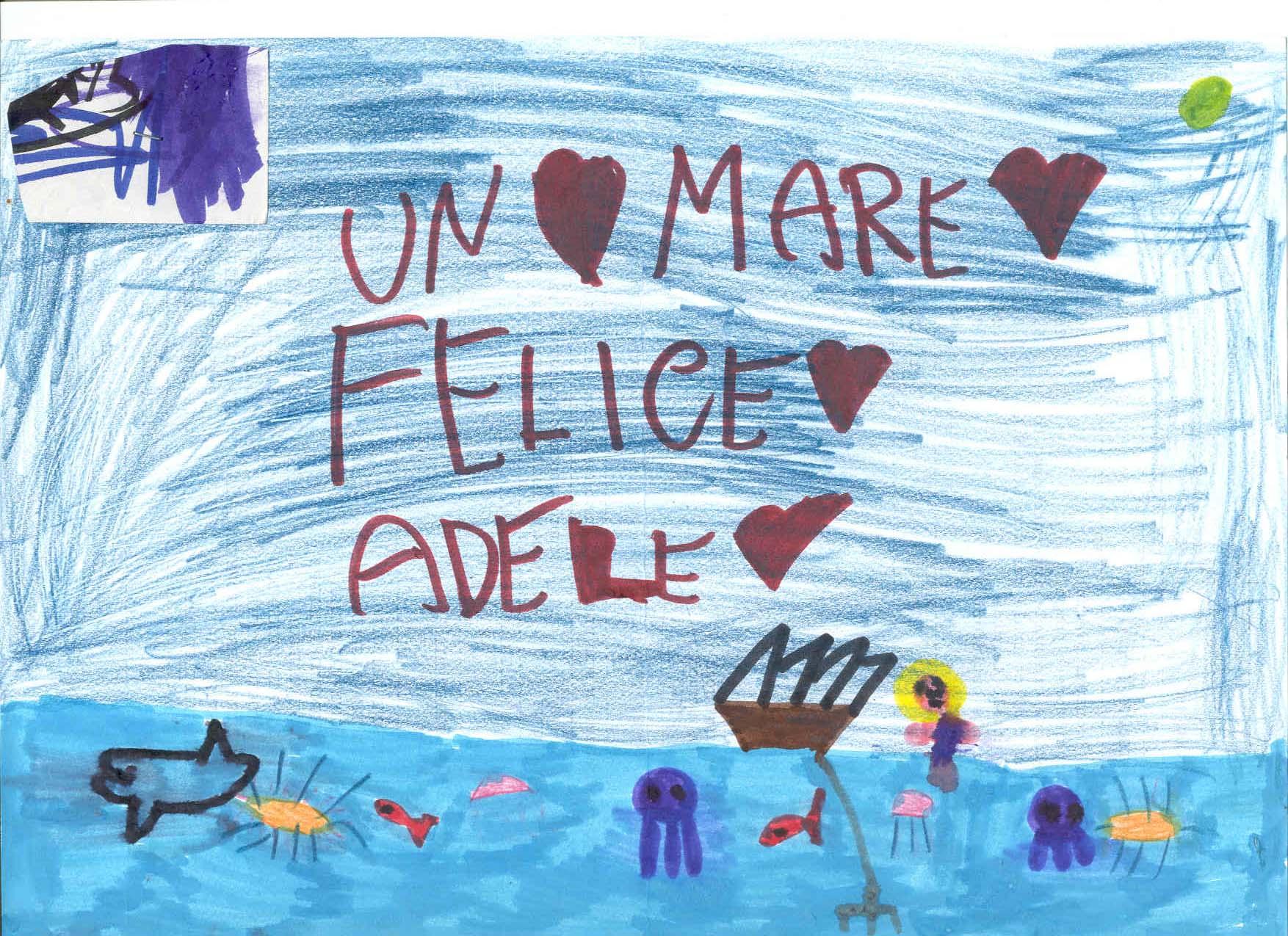 Disegno Adele – Un Mare di Felicità