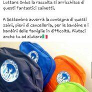 """Ringraziamenti """" Zaino Solidale"""" Guidonia"""